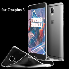 Ultra Thin TPU Case for OnePlus 3 - Transparent