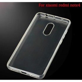 Ultra Thin TPU Case for Xiaomi Redmi Note 4 Mediatek - Transparent - 2