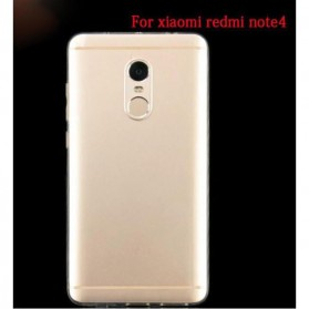 Ultra Thin TPU Case for Xiaomi Redmi Note 4 Mediatek - Transparent - 5
