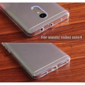 Ultra Thin TPU Case for Xiaomi Redmi Note 4 Mediatek - Transparent - 6