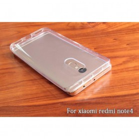 Ultra Thin TPU Case for Xiaomi Redmi Note 4 Mediatek - Transparent - 7