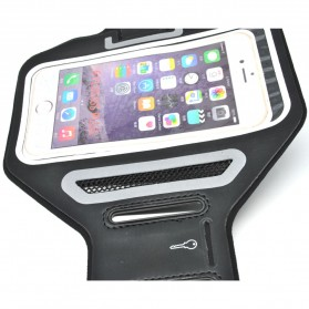 Universal Sports Armband Case with Key Storage L Size - ZE-AD400 - Black - 4