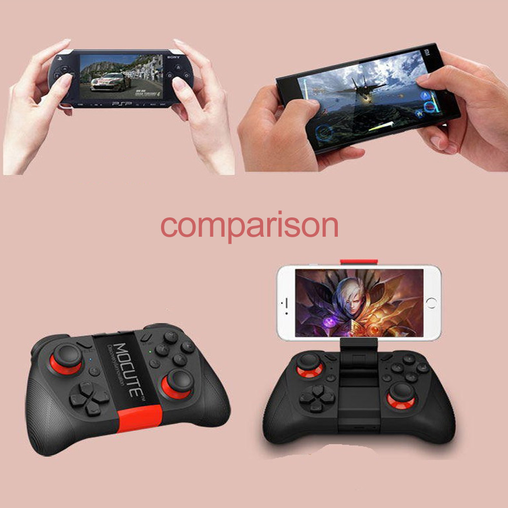 VRBOX 2 0 Bluetooth Wireless Gamepad Joystick for Android and iOS - Black