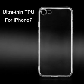 Ultra Thin TPU Case for iPhone 7/8 - Transparent - 3