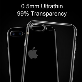Ultra Thin TPU Case for iPhone 7/8 - Transparent - 4