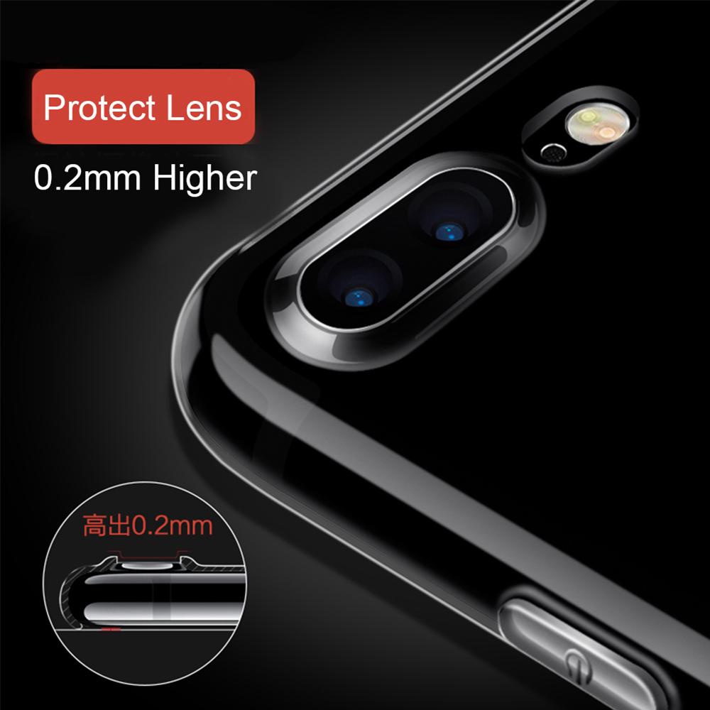 Ultra Thin TPU Case for iPhone 7 - Transparent - JakartaNotebook.com