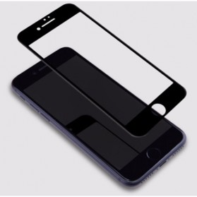 Zilla 3D Full Protect Tempered Glass Curved Edge 9H for iPhone 7/8 Plus - Black - 6