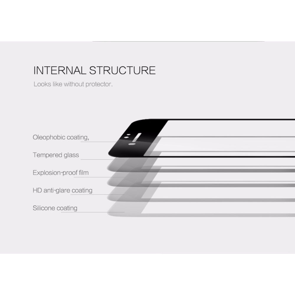 Zilla 3d Carbon Fiber Tempered Glass Full Protect For Iphone 7 White 25d Anti Spy Protection Screen 6 6s Curved Edge 9h