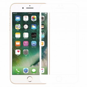 Zilla 3D Full Protect Tempered Glass Curved Edge 9H for iPhone 7/8 Plus - White