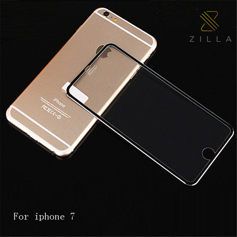 Zilla 3D Titanium Alloy Tempered Glass Curved Edge 9H for iPhone 7/