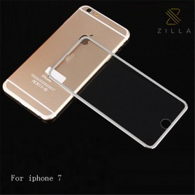 Zilla 3D Titanium Alloy Tempered Glass Curved Edge 9H for iPhone 7/8 Plus - White