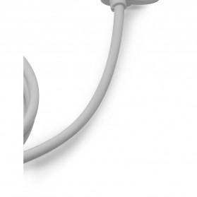 Kabel Data 2 in 1 USB Type C & Micro USB - US142 - White - 4