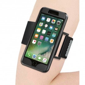 Sports Silicone Armband Case for iPhone 7/8 Plus - Black - 2