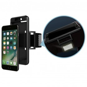 Sports Silicone Armband Case for iPhone 7/8 Plus - Black - 3