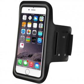 Sports Armband Case for iPhone 6 Plus / 7 Plus / 8 Plus - Black - 6