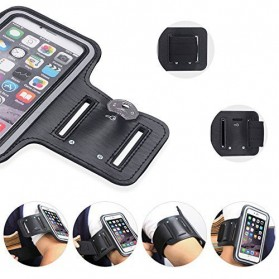 Sports Armband Case for iPhone 6 Plus / 7 Plus / 8 Plus - Black - 7