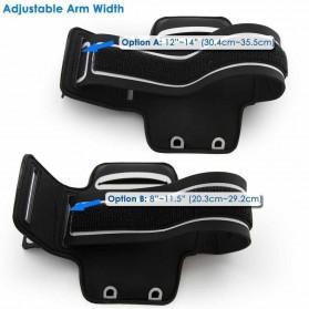 Sports Armband Case for iPhone 6 Plus / 7 Plus / 8 Plus - Black - 8