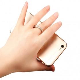 Finger iRing Smartphone Holder Dengan Hook - Black - 3