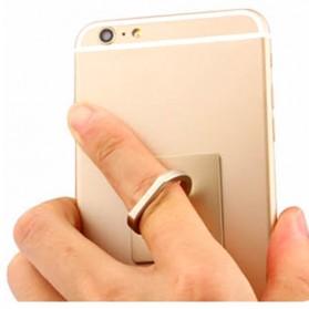 Finger iRing Smartphone Holder Dengan Hook - Black - 4