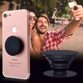 Popsocket Holder Smartphone - Model 1 - Black - 6