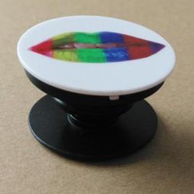 Popsocket Holder Smartphone - Model 8 - Black White - 2