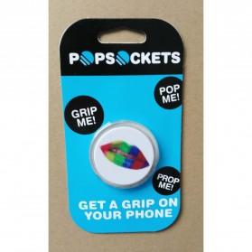 Popsocket Holder Smartphone - Model 8 - Black White - 4