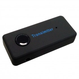 Universal Stereo Audio Bluetooth Transmitter - Black