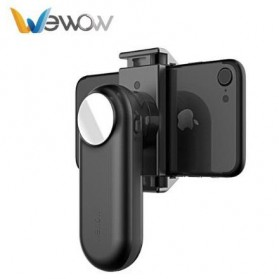 Wewow Fancy Mini Gimbal Stabilizer 1-Axis for Smartphone - Black