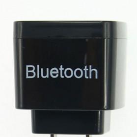 QANDI 2 in 1 Bluetooth Audio Receiver with USB Charging EU Plug - BLTR108 - Black - 2