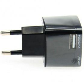 QANDI 2 in 1 Bluetooth Audio Receiver with USB Charging EU Plug - BLTR108 - Black - 3