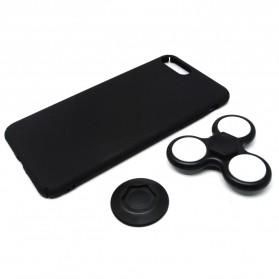LED Fidget Spinner Smartphone Case for iPhone 6/6s Plus - Black - 2