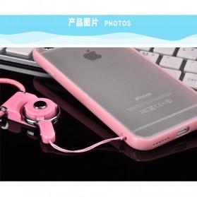 Kalung Detachable Lanyard Smartphone - Black - 7