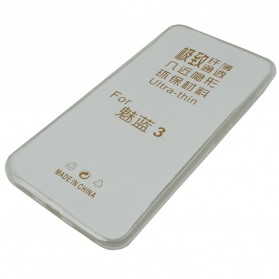Ultra Thin TPU Case for Meizu Blue Charm 3 - Transparent