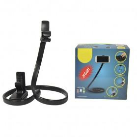 Lazypod Snake Smartphone Monopod - Black