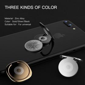Metal iRing Smartphone Holder - R20 - Black - 5