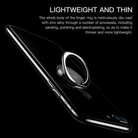 Metal iRing Smartphone Holder - R20 - Black - 6