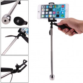 Mayhem Funtech Monopod Pocket Video Stabilizer 2 in 1 For Smartphone / Action Camera - Black - 8