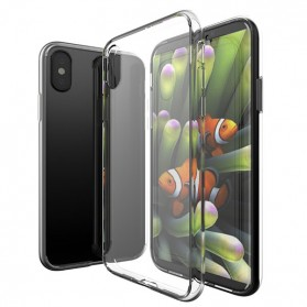 Casing TPU Smartphone for iPhone X - Transparent - 2