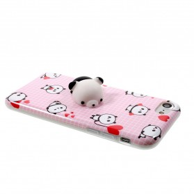 Case Squishy Book Pile Cat for iPhone 7/8 - 4