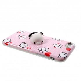 Case Squishy Book Pile Cat for iPhone 7 Plus / 8 Plus - 4