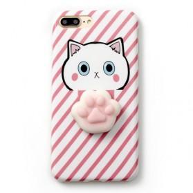 Case Squishy Book Pile Cat for iPhone 7 Plus / 8 Plus - 6