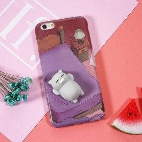 Case Squishy Cat Claw for iPhone 7/8 - Blue - 3