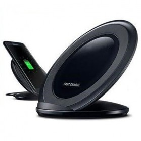 Wireless Qi Charger Dock for Smartphone - Black