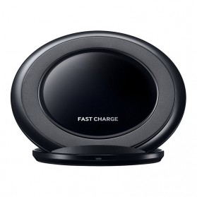 Wireless Qi Charger Dock for Smartphone - Black - 2