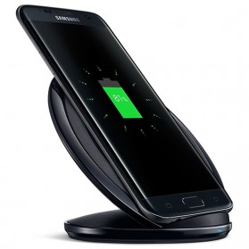 Wireless Qi Charger Dock for Smartphone - Black - 4