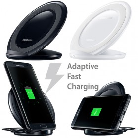 Wireless Qi Charger Dock for Smartphone - Black - 5