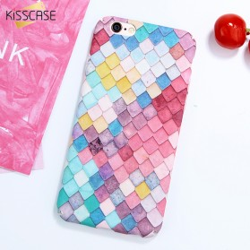 Kisscase Mermaid Scale 3D Hardcase for iPhone 7/8 - Multi-Color