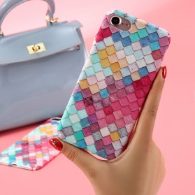 Kisscase Mermaid Scale 3D Hardcase for iPhone 7/8 - Multi-Color - 2
