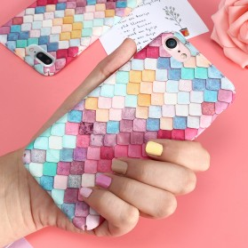 Kisscase Mermaid Scale 3D Hardcase for iPhone 7/8 - Multi-Color - 3