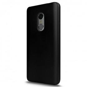 Silicone Case for Xiaomi Redmi Note 4/4x - Black
